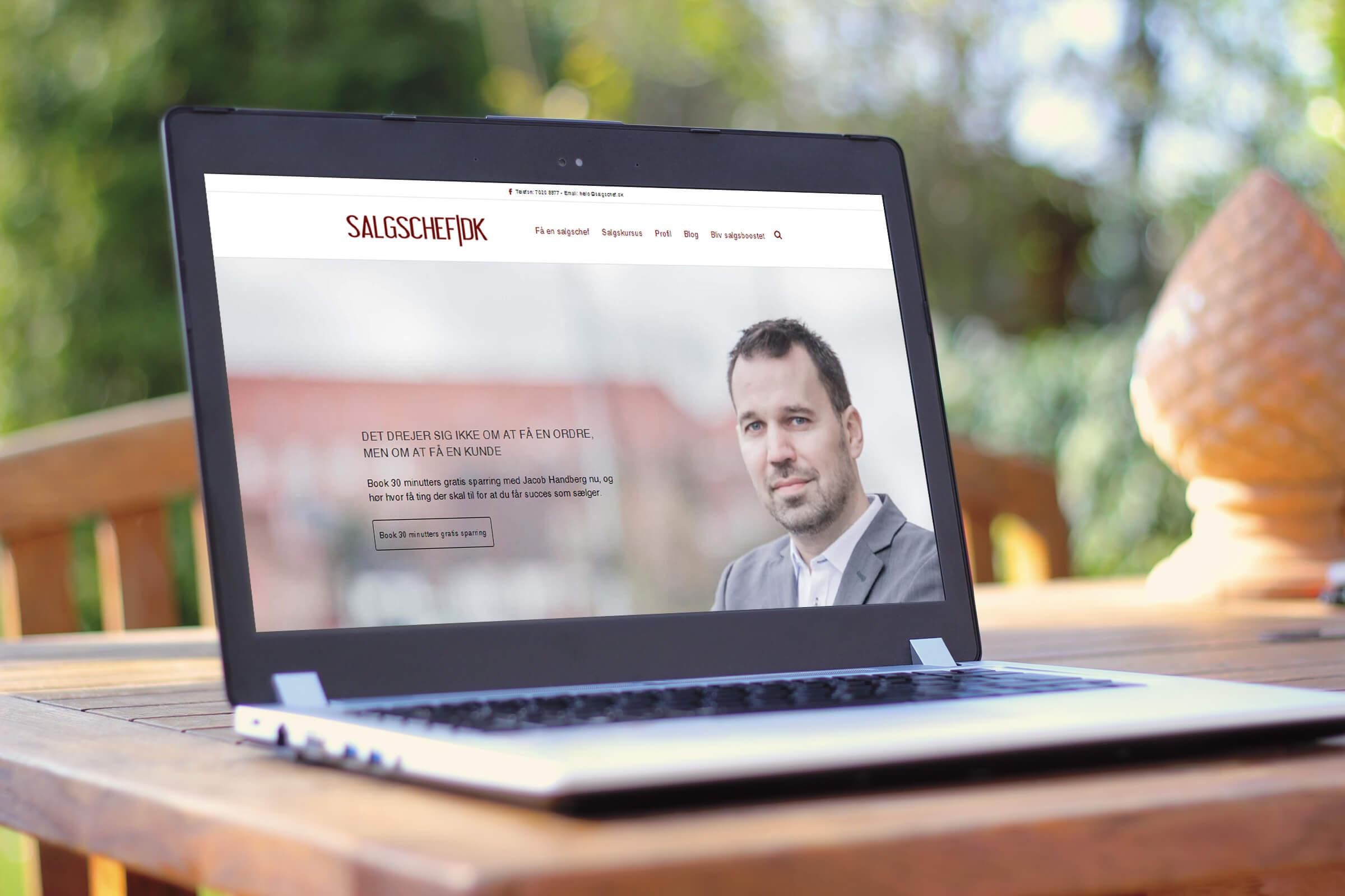 Få et gratis online salgskursus med Jacob Handberg